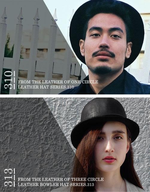 HAT&BOWLER HAT SERIES.310-313